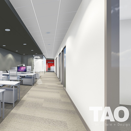 Supply One Office Renovation - Architects Rendering
